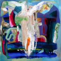 """The Mayor's Gallery presents Jay Petrow """"This Must Be The Place"""" Emotionally charged abstract expressionist paintings"""