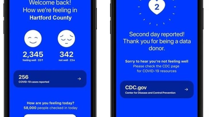 """Lamont encourages Connecticut residents to use the """"how We Feel"""" app to improve coronavirus response"""