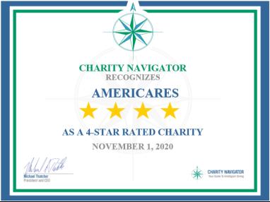 Americares Earns Highest Charity Navigator Rating
