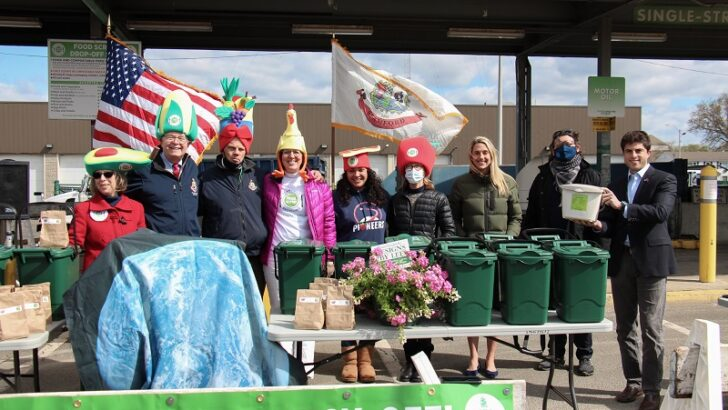 Stamford Kicks Off Earth Day with Residential Food Scrap Recycling Program