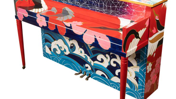 The Piano Project Pianos are Installed in Stamford Downtown