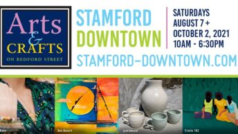 Stamford Downtown hosts second Arts & Crafts on Bedford on August 7