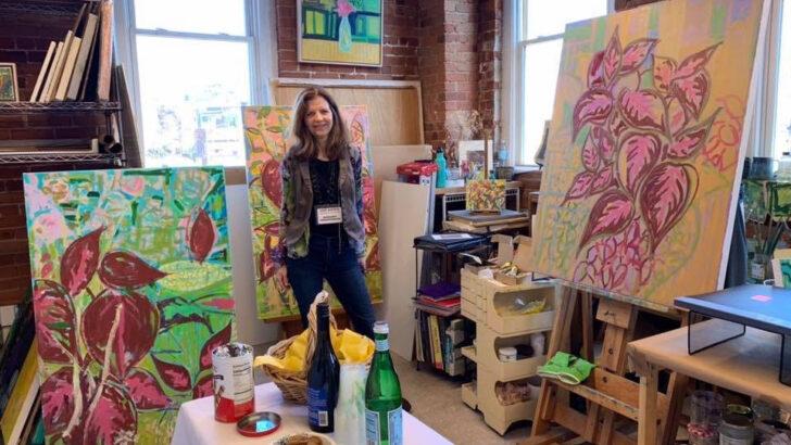 Stamford artist's solo exhibition runs September 11 through October 10 at Loft Artists Gallery
