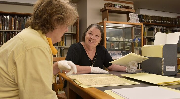Alumna gifts great-great-grandfather's Civil War letters to WCSU